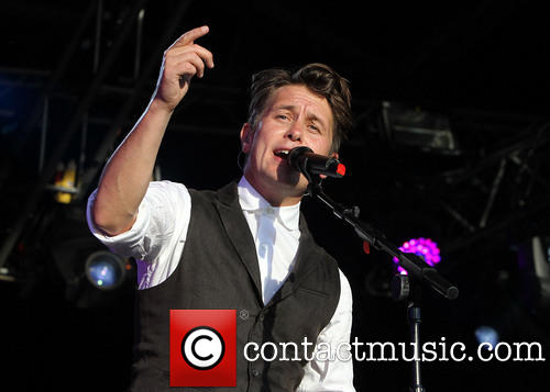 Mark Owen at Lulworth Castle Camp Bestival-3rd August 2013 511