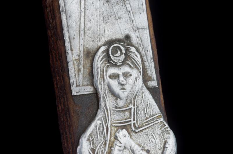Joli crucifix artisanal sans doute - probablement XIXème Crux_111