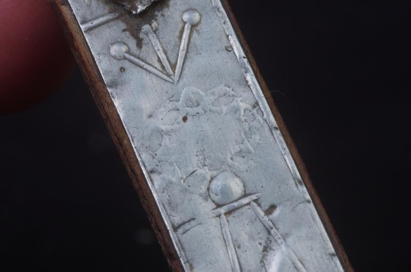 Joli crucifix artisanal sans doute - probablement XIXème Crux_310
