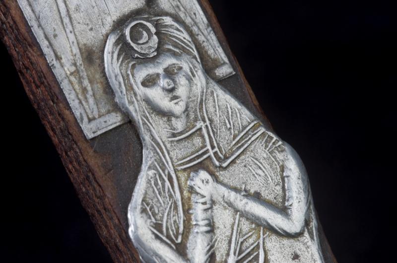 Joli crucifix artisanal sans doute - probablement XIXème Crux_610