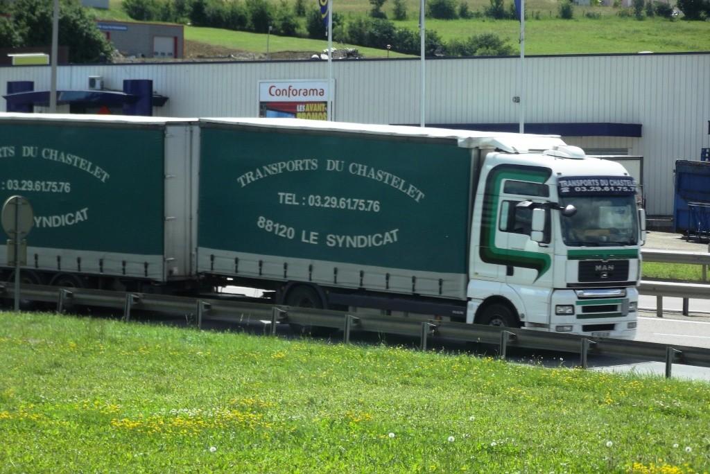 Transports du Chastelet (Le Syndicat, 88) Camion72