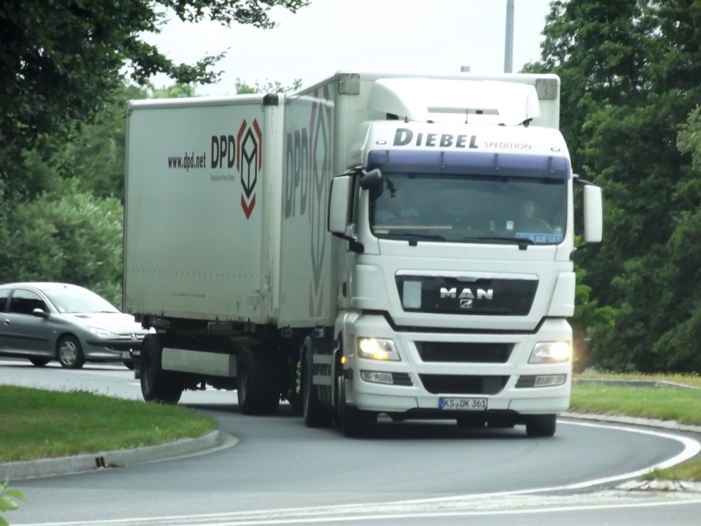Diebel Spedition (Kassel),transporteur pour DPD (Dynamic Parcel Distribution) Photo862