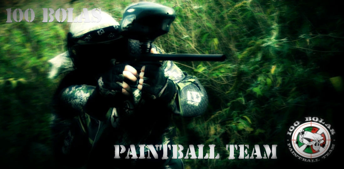 100BOLAS PAINTBALL TEAM