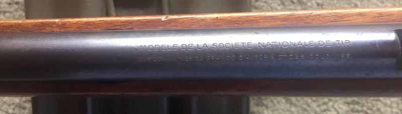 Carabine scolaire Societe Nationale de Tir (MAS) Snt-2211