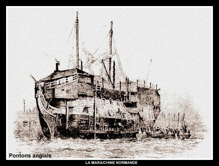 Un ponton prison anglais de la Révolution ou de l'Empire 99923110