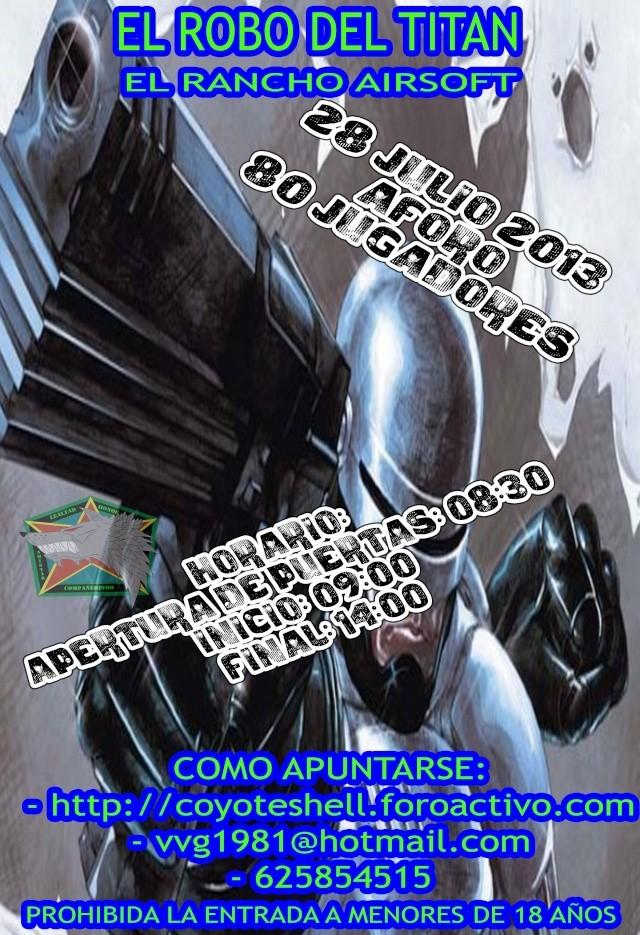 El robo del titan, 28.07.13 El Rancho (Brunete) Robode10