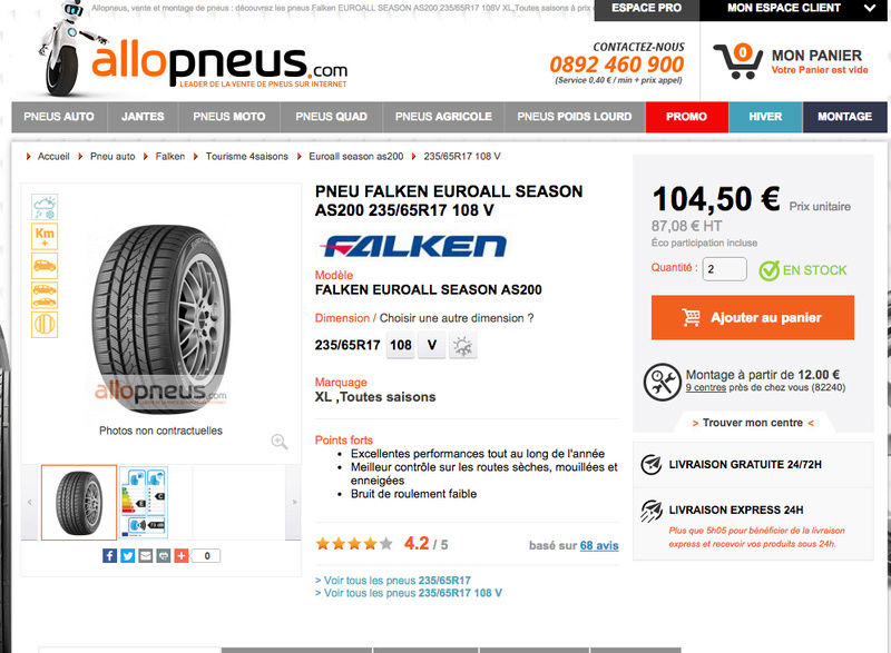 Avis pneus FALKEN? Captur50