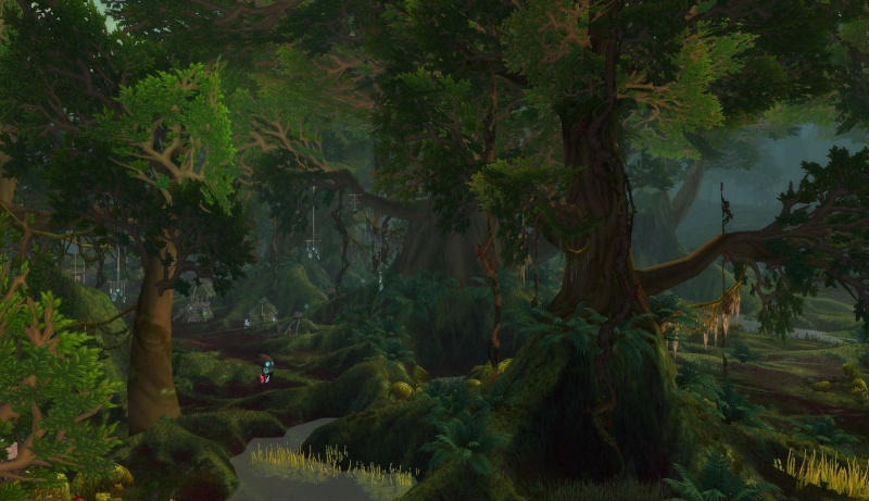 [Bestiaire] Le Protodrake vert (draconien du bassin de Sholazar) 3_oura10