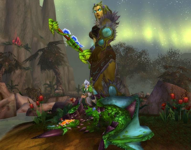 [Bestiaire] Le Protodrake vert (draconien du bassin de Sholazar) 7_oura10