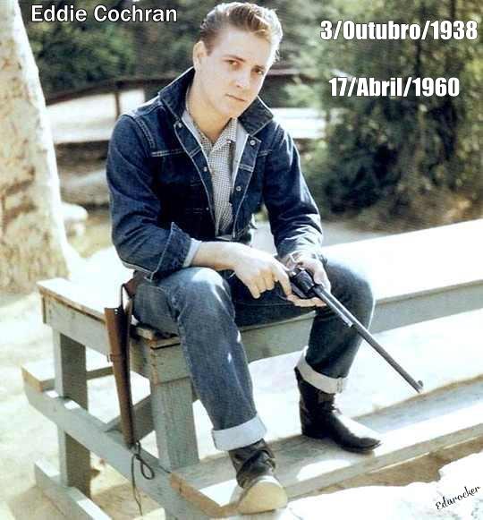 3 de Outubro/1938 nasce Eddie Cochran ♫♪¶ 4ever_12