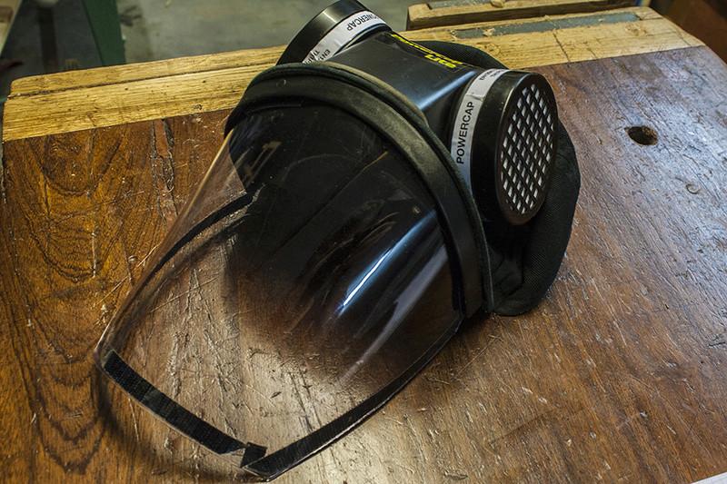 Cape ventilée : Axminster APF 10 Nouvel11