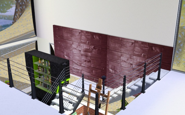 [Intermédiaire] Construire un escalier à palier Screen15
