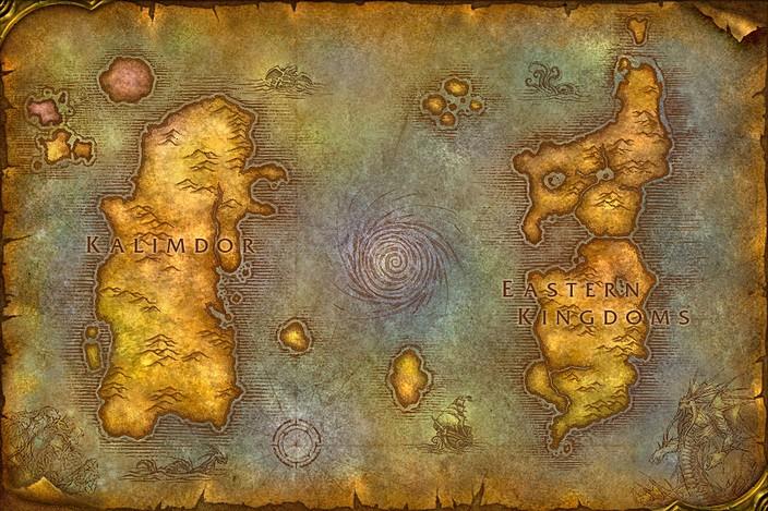 Géographie d'Azeroth : faits et spéculations Map-wo10