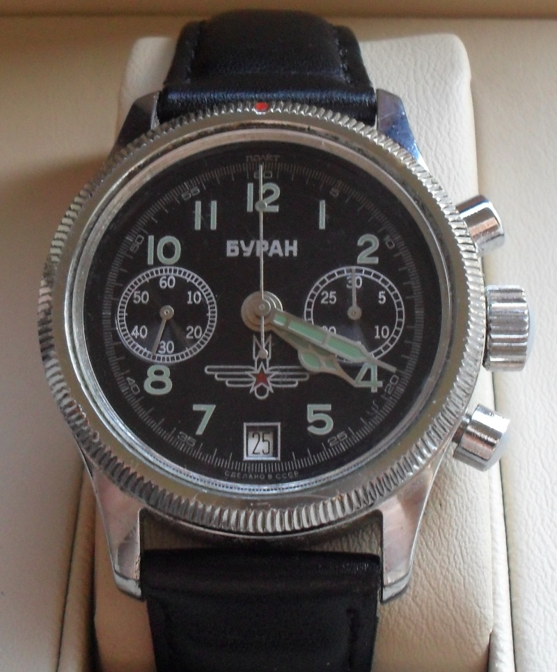Buran Chronographe  Chrono14