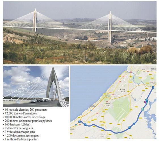 La verrue de Rabat enfin résolue : Inauguration du contournement autoroutier de la capitale Contou10