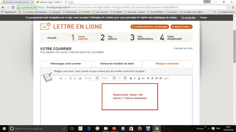 Courrier urgent :  Y a pas marqué « la Poste »... mais la Poste assure !  La_pos15