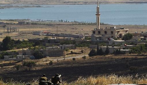 Israël s'empare du sous-sol du Golan syrien occupé 56841810