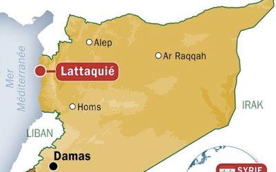 Frappes aériennes israéliennes en Syrie Arton112