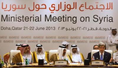 La guerre en Syrie menace toute la région d'un bain de sang sectaire Doha-j10