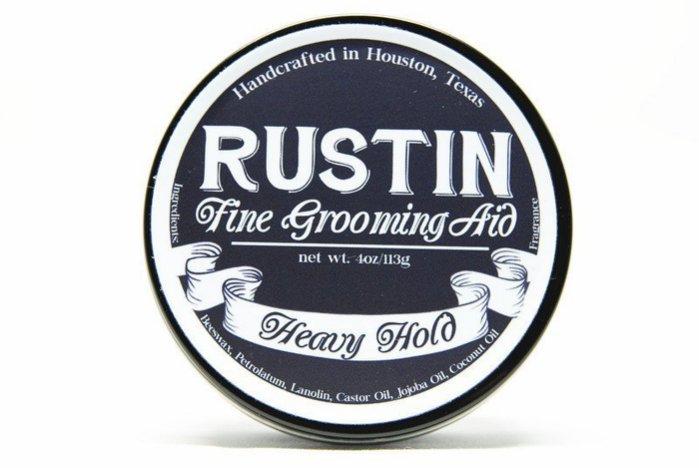 Revue pommade Rustin Heavy hold Rustin10