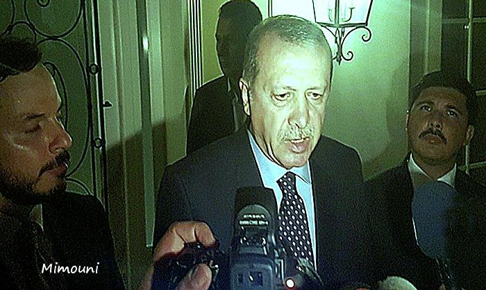 Turquie ..... vers l'instauration de la paix conditionnée Erdoga10