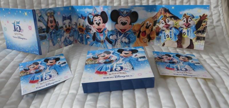 "[Tokyo DisneySea] : 15th anniversary ""The Year of Wishes"" merchandising Disc0211"