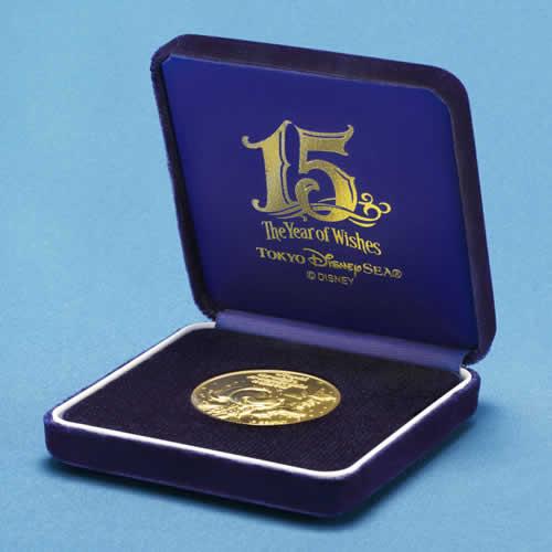 "[Tokyo DisneySea] : 15th anniversary ""The Year of Wishes"" merchandising Gold_m13"