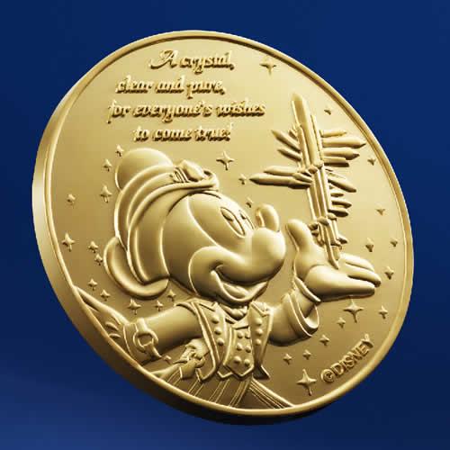 "[Tokyo DisneySea] : 15th anniversary ""The Year of Wishes"" merchandising Gold_m14"