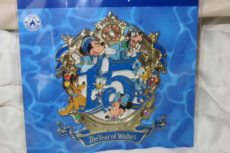 """[Tokyo DisneySea] : 15th anniversary """"The Year of Wishes"""" merchandising Img_6011"""