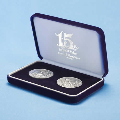 "[Tokyo DisneySea] : 15th anniversary ""The Year of Wishes"" merchandising Silver14"