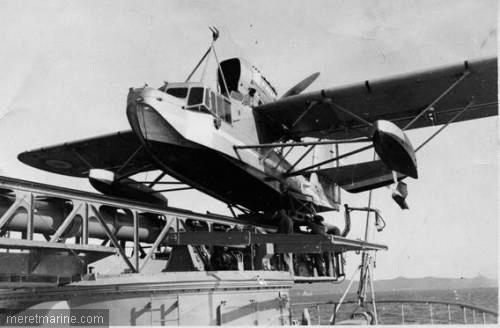 Les catapultes du cuirassé Richelieu au 1/100 ème (1940) 2302710