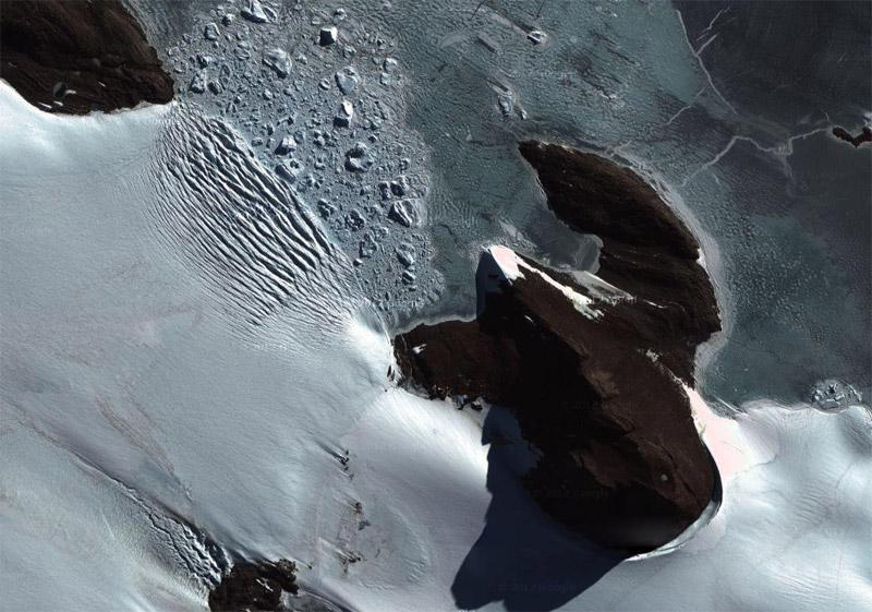 Les glaciers dans le monde Antarc10