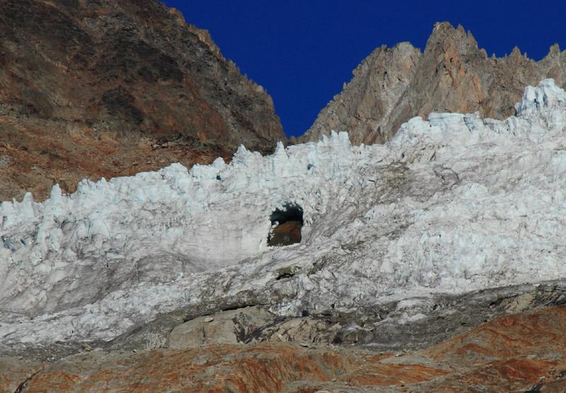 Le glacier du Tour. Trou-t11
