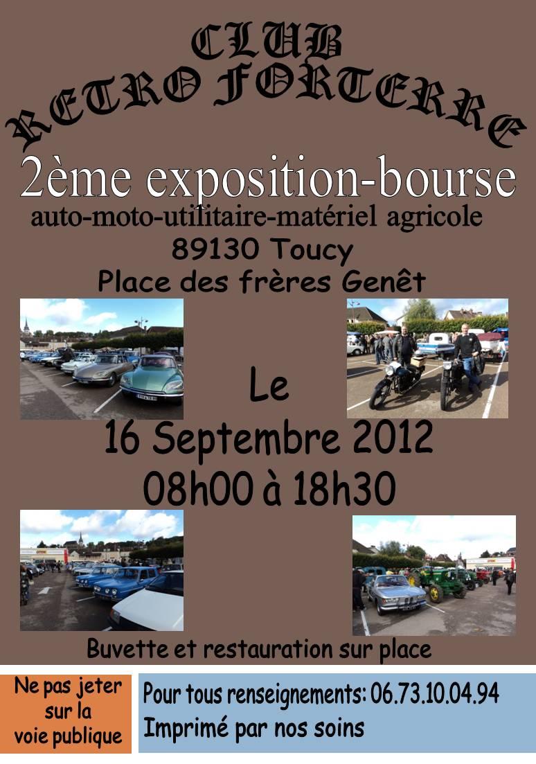 exposition-bourse autos-motos. Le 18 septembre 2011 a Toucy dép 89 Prasen11