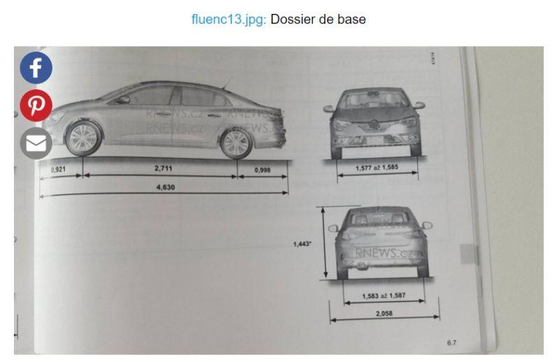 2016 - [Renault] Megane Sedan (LFF) - Page 5 Fluenc10