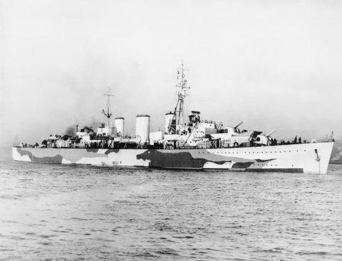 Royal Navy mouilleurs de mines rapides. Abdiel10