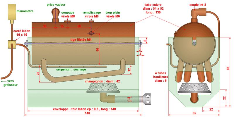 Braser du laiton sur du cuivre Bv000010