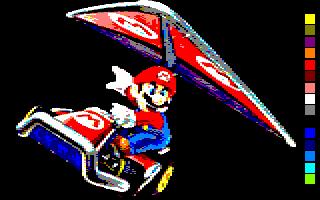 Mario Kart est quand même superior sur CPC Mario-10