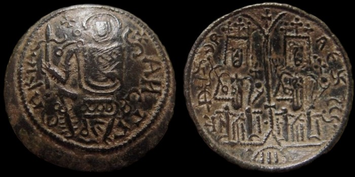 Monnaies d'inspiration byzantine Bela_i10