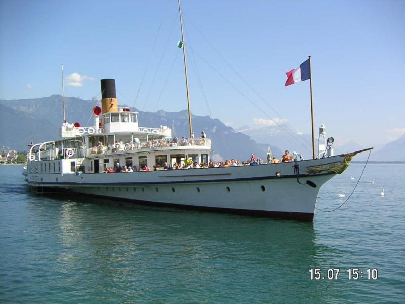 le SIMPLON, un bateau suisse à vapeur de presque 100 ans 15_jul10
