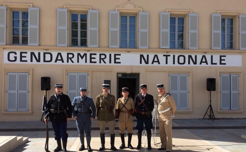 INAUGURATION DU MUSÉE DE LA GENDARMERIE ET DU CINEMA Devant13
