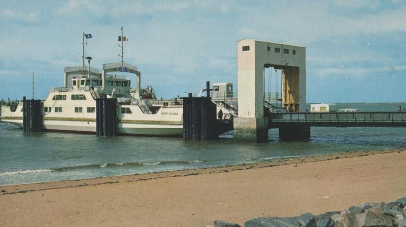 Maquette de l'embarcadère de Mindin (1960/1974) échelle 1/100  _571_210