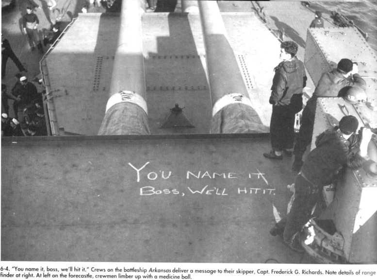 3 - Les forces navales et les bombardements navals prévus sur Omaha Beach le D DAY 0566-l10