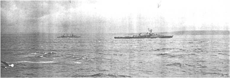 3 - Les forces navales et les bombardements navals prévus sur Omaha Beach le D DAY 0572-l10