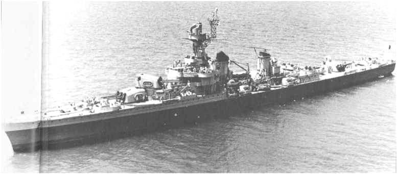 3 - Les forces navales et les bombardements navals prévus sur Omaha Beach le D DAY 0884-l10