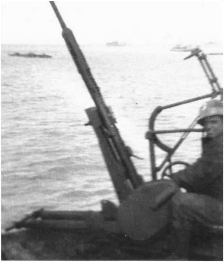 3 - Les forces navales et les bombardements navals prévus sur Omaha Beach le D DAY 0928-l10