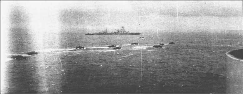 3 - Les forces navales et les bombardements navals prévus sur Omaha Beach le D DAY 0932-l10
