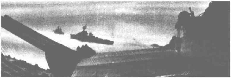 3 - Les forces navales et les bombardements navals prévus sur Omaha Beach le D DAY 0933-l10