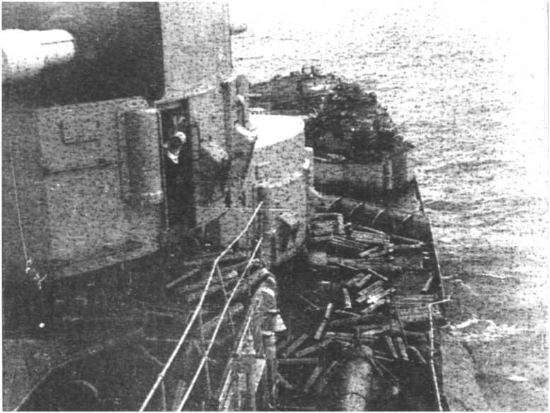 3 - Les forces navales et les bombardements navals prévus sur Omaha Beach le D DAY 0934-l10