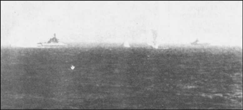 3 - Les forces navales et les bombardements navals prévus sur Omaha Beach le D DAY 0937-l10